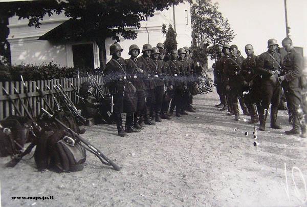 Tarpukario Lietuvos kariai