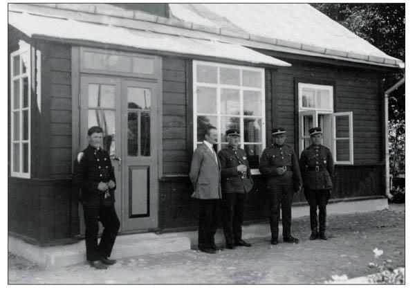 Oservatorija kato topografijos skyriaus karininkai