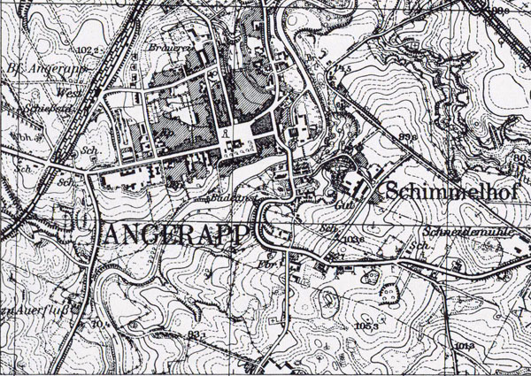 Messtischblatt 1598