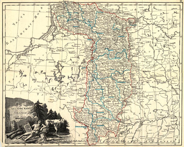 Lietuvos gubernija 1800