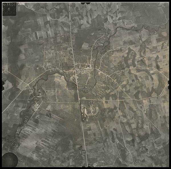 Kalvarija iš oro 1944