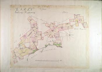 Karta gubernii Krynskiey 1780