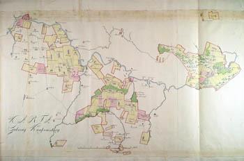Karta gubernij Kwasowskiej 1780