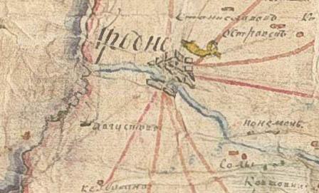 Gardino gubernija 1807