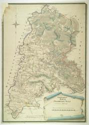 Gardino apskrities žemėlapis 1797