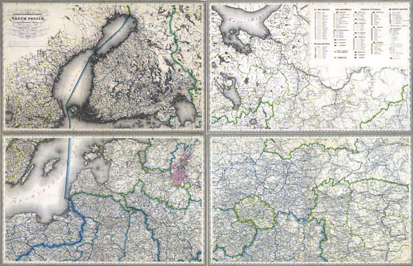Karinis-kelių žemėlapis 1:1680000