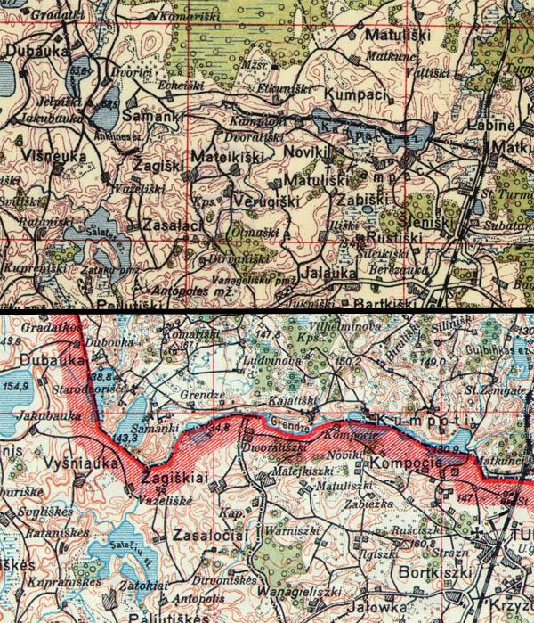 Latvijas karte 1:75000