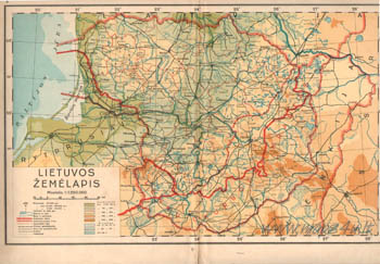 P.Šinkūnas Geografijos atlasas 1938