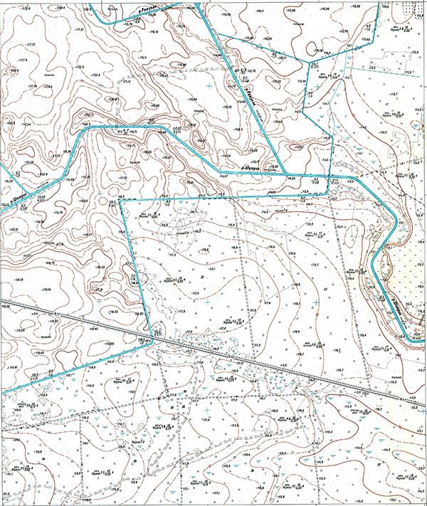 Soviet maps 1:5000