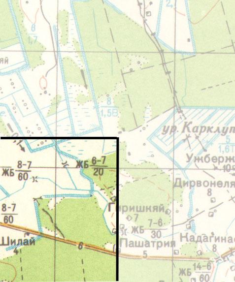 Soviet 1:100000 maps