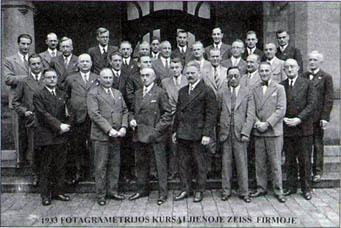 J.Deksnys kursuose K.Zeiss firmoje