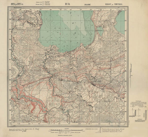1:25000 Estonia maps