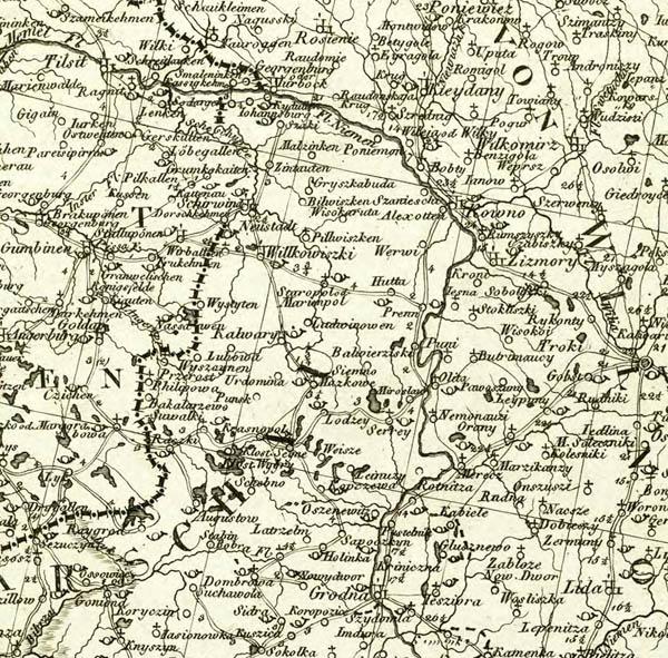 Carte Des Europaeisch - und eines Theils des asiatisch-russischen Reichs.