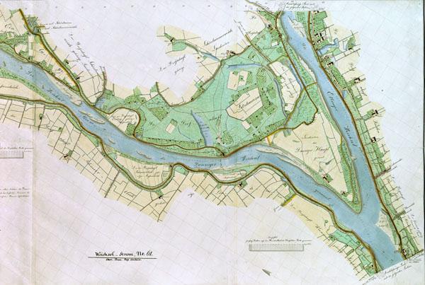 Vyslos upės planas