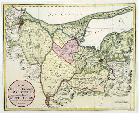 Vakarų Prūsija 1799