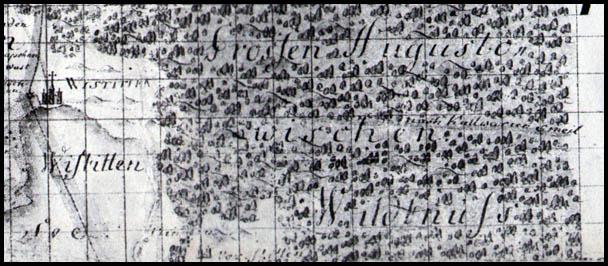 Kelias į Kalvarija 1754