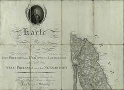 Karte Ost Preussen