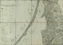 Karte von Ost-Preussen nebst Preussisch Litthauen und West - Preussen nebst dem Netzdistrict