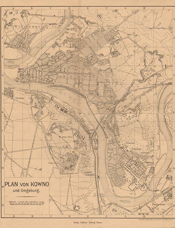 Umgebung Kaunas 1917