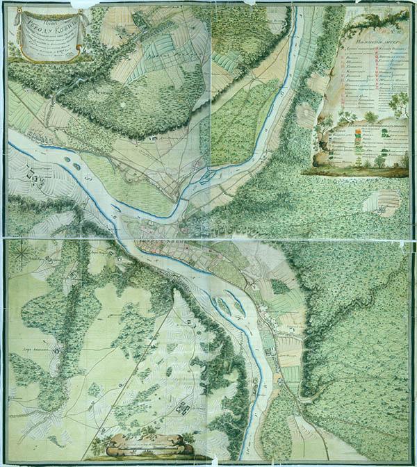 Kauno planas 1797