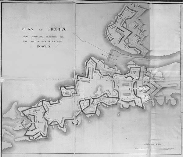 Kauno tvirtovės planas