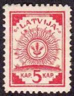 Latvian Stamp 1918