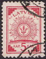 Stamp on map KDWR