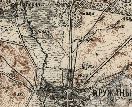 Карта шуберта лист xxxii