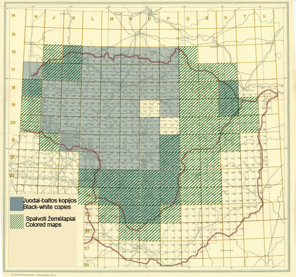 Subdividing villages in Lithuania 1919-1939