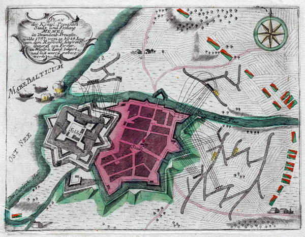Klaipėda 1757