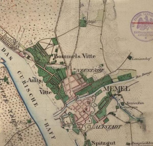 Memel 1834