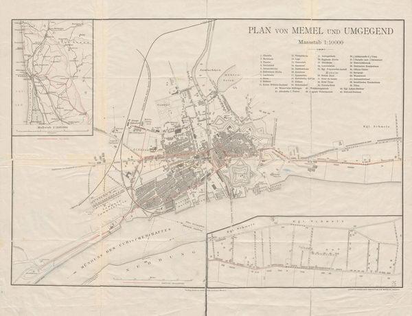 Memel plan 1905