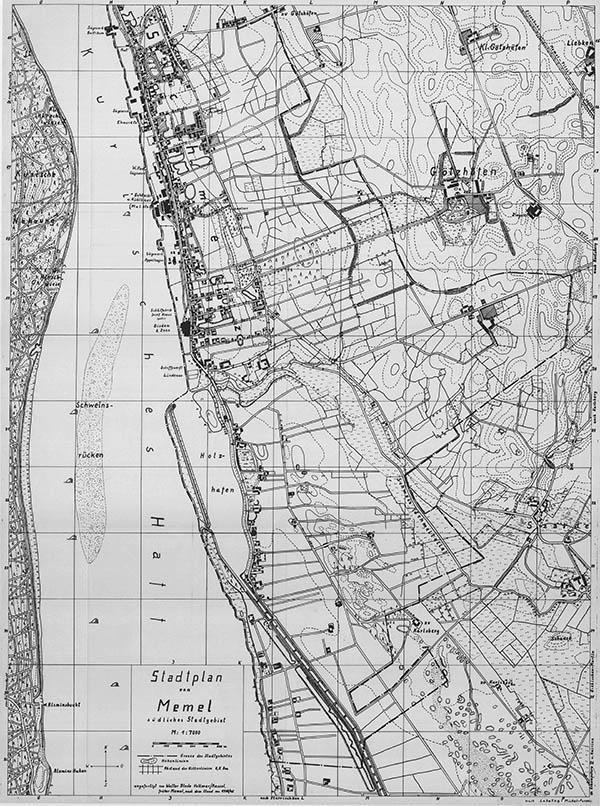 Klaipėdos planas 1939
