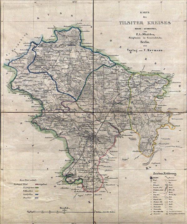 Kreis Tilsit 1846