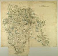 Trakų vaivadijos žemėlapis
