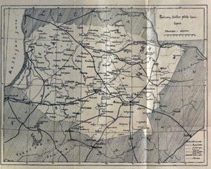 P.Vileišis Lietuvos žemėlapis