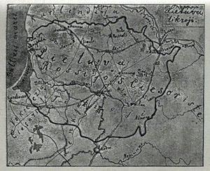 P.Vileišis map 1898