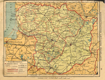 Mantnieks Geographical atlas