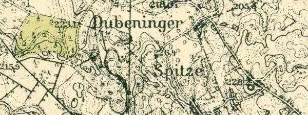Messtischblatt 17101