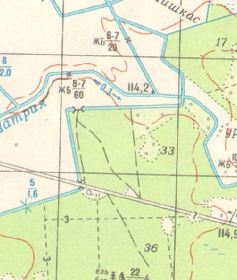 Soviet 1:50000 maps
