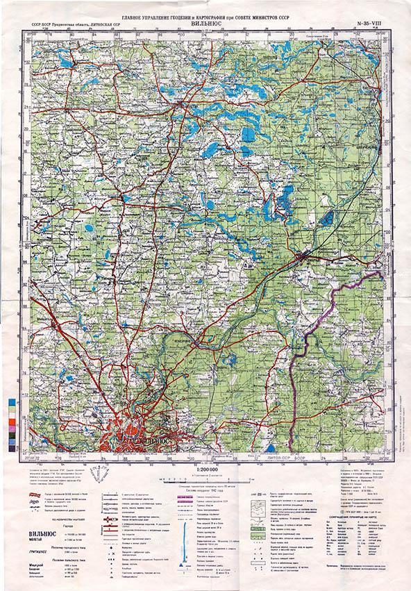 карта 1:200000