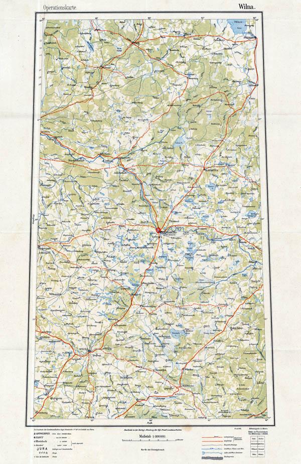 Обзорная карта Европы и Ближнего востока масштабом 1:800000