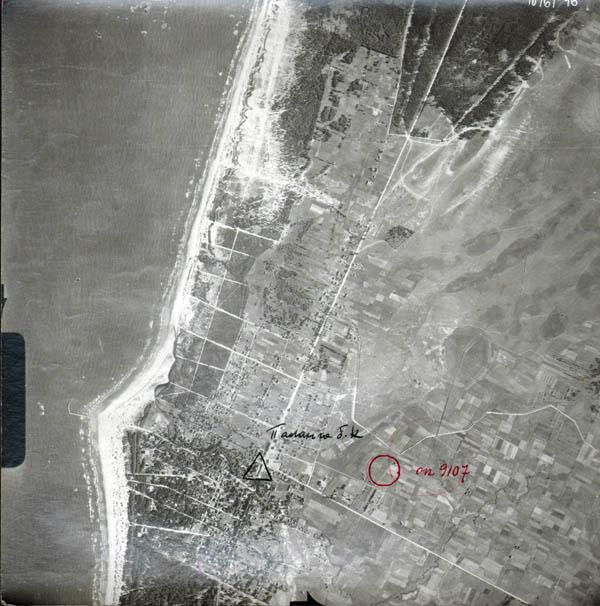 Palanga aerofoto 1946