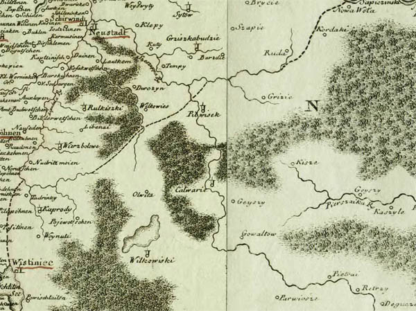 Pfau Regni Poloniae, Magni Ducatus Lituaniae Nova Mappa Geographica concessu Borussorum Regis