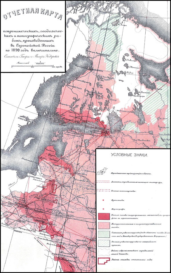 Survey of Russian empire 1890