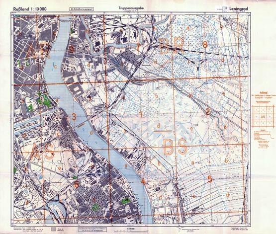 Leningrad 1:10000