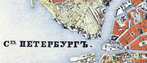 St.Petersburg map