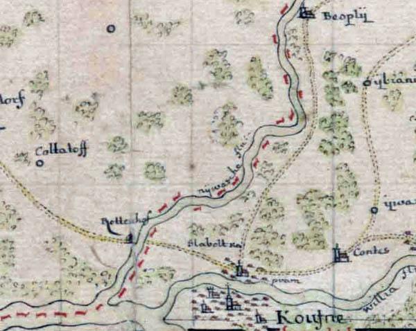 1702 žemėlapis