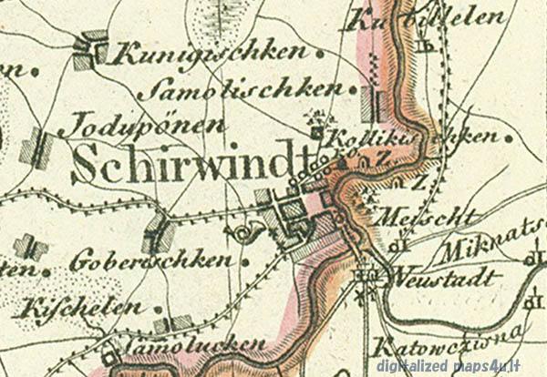 Schroetter maps 1:150000