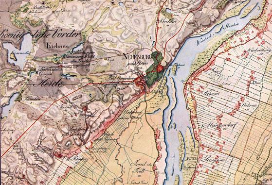 Schrotterische karte 1:50000 1796-1802